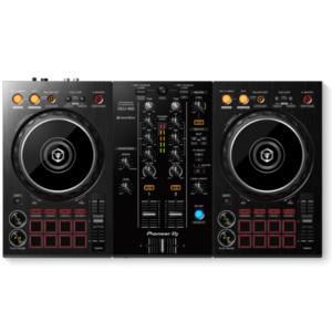 """alt=""""Controlador DDJ-400 da Pioneer DJ na cor preto"""""""