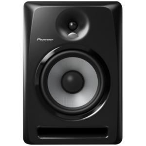 """alt=""""Coluna S-DJ80X da Pioneer DJ na cor preto"""""""