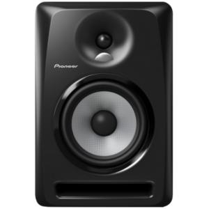 """alt=""""Coluna S-DJ60X da Pioneer DJ na cor preto"""""""