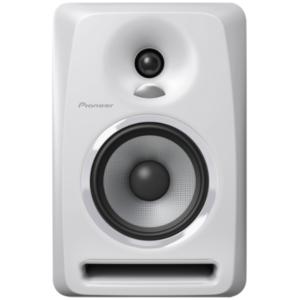 """alt=""""Coluna S-DJ50X da Pioneer DJ na cor branco"""""""