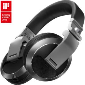 "alt=""Auscultadores HDJ-X7 da Pioneer DJ na cor prateado"""