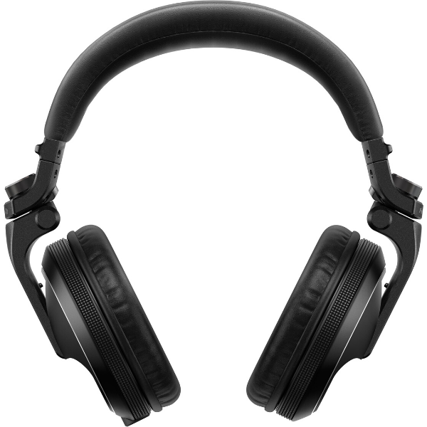 """alt=""""Auscultadores HDJ-X5 da Pioneer DJ na cor preto"""""""