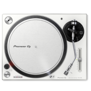 "alt=""Gira-Discos PLX-500 da Pioneer DJ na cor branco"""